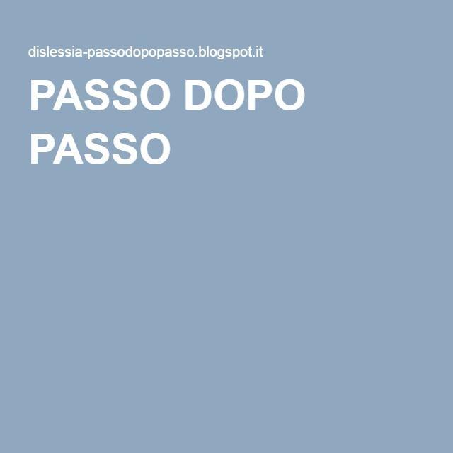 PASSO DOPO PASSO