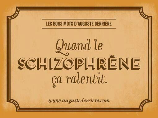 Les jeux de mots laids d'Auguste Derrière : golem13