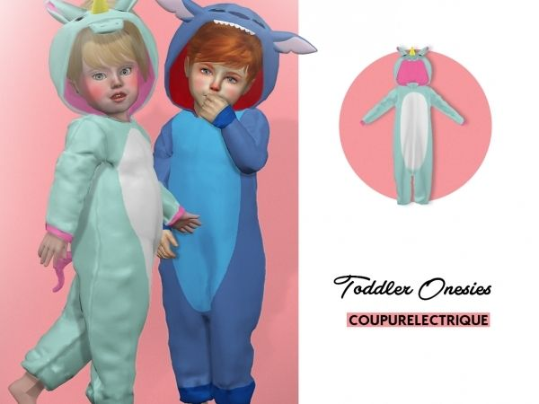 Toddler Onesies The Sims 4 Download Simsdomination