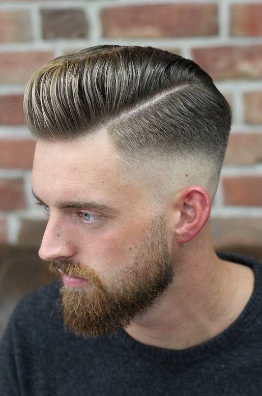 dfcde5e96 35 Cool Hairstyles For Men 2018 | MENSWEAR : HAIRSTYLES 2018 / BEARDS /  FACIAL HAIR | Hair styles, Mens hairstyles pompadour, Pompadour hairstyle