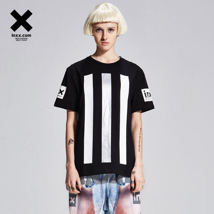 [INXX] INXX nou aflux de T-shirt pentru bărbați și femei de litere strada prin X42010034 bani