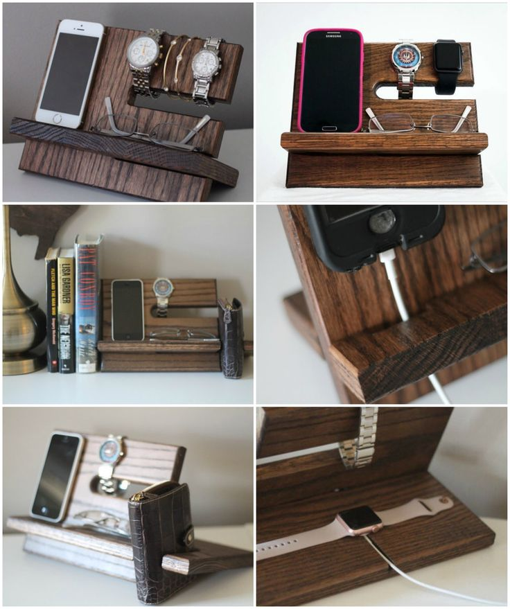 Night Stand Valet Phone Or Watch Charging Stand