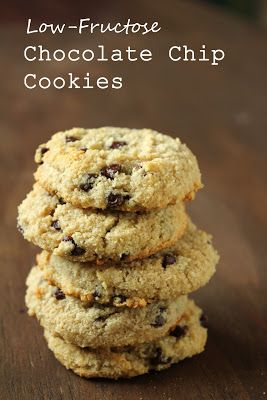 Low-Fructose Soft Chocolate Chip Cookies
