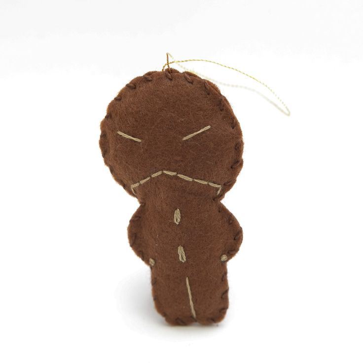 Evil gingerbread - gingerbread man, christmas decor, christmas gift, christmas decoration, cute, adorable. by HalloweenOrChristmas on Etsy