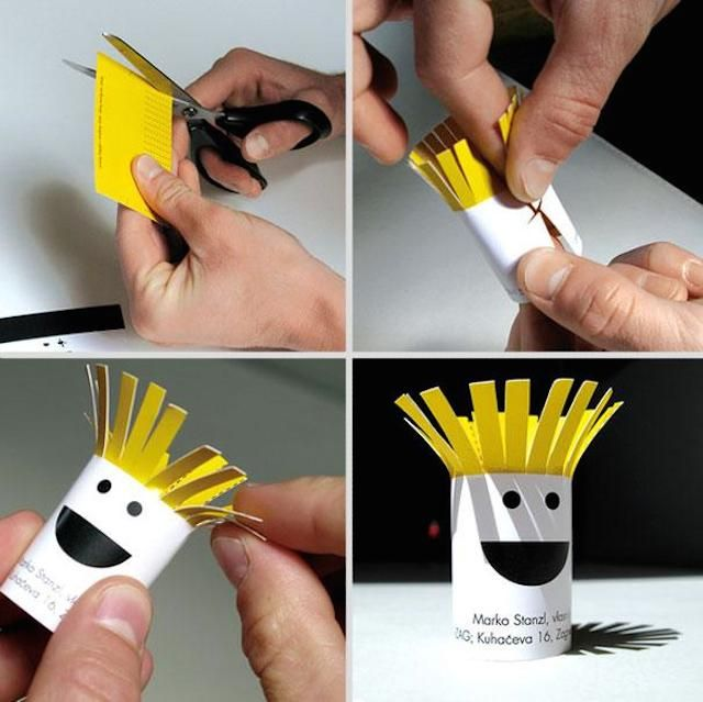 Invent Your Style 18 Of The Most Amazing And Creative Business Cards Ever Made • Page 5 of 5 • BoredBug