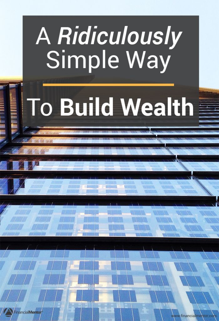 Building enough wealth to retire comfortably on might seem overwhelming, but everything you need to know can be boiled down into two simple methods.