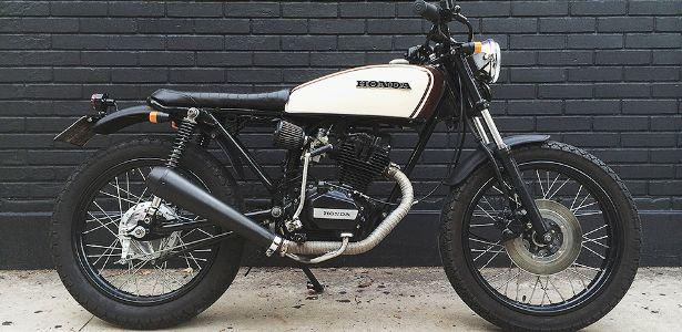 Linhas ousadas transformam antiga CG 125 em café racer arrojada Estilo Café Racer se difunde e vira até alternativa contra roubo da moto.