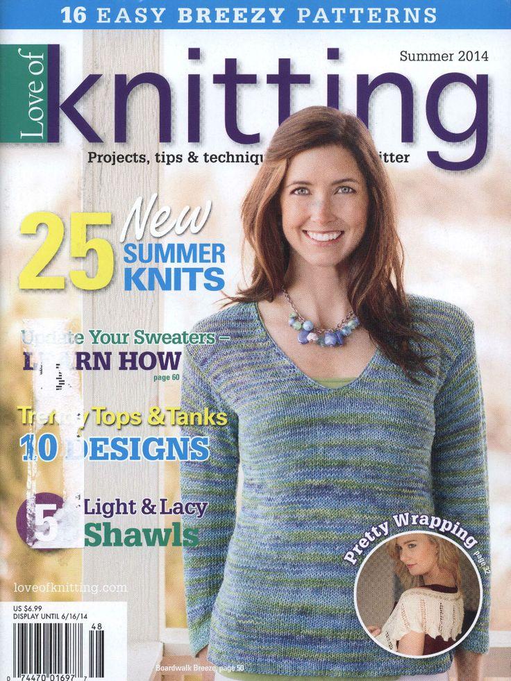 Love of Knitting Summer 2014