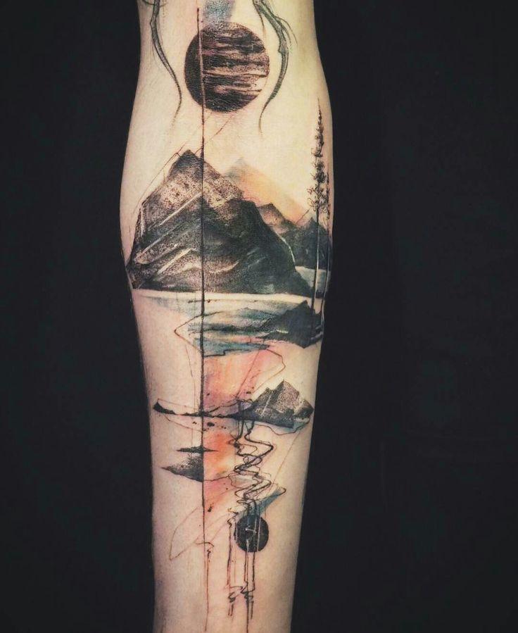 Tattoo done by: @tattooer_nadi #abstracttattoo #tatuajeabstracto
