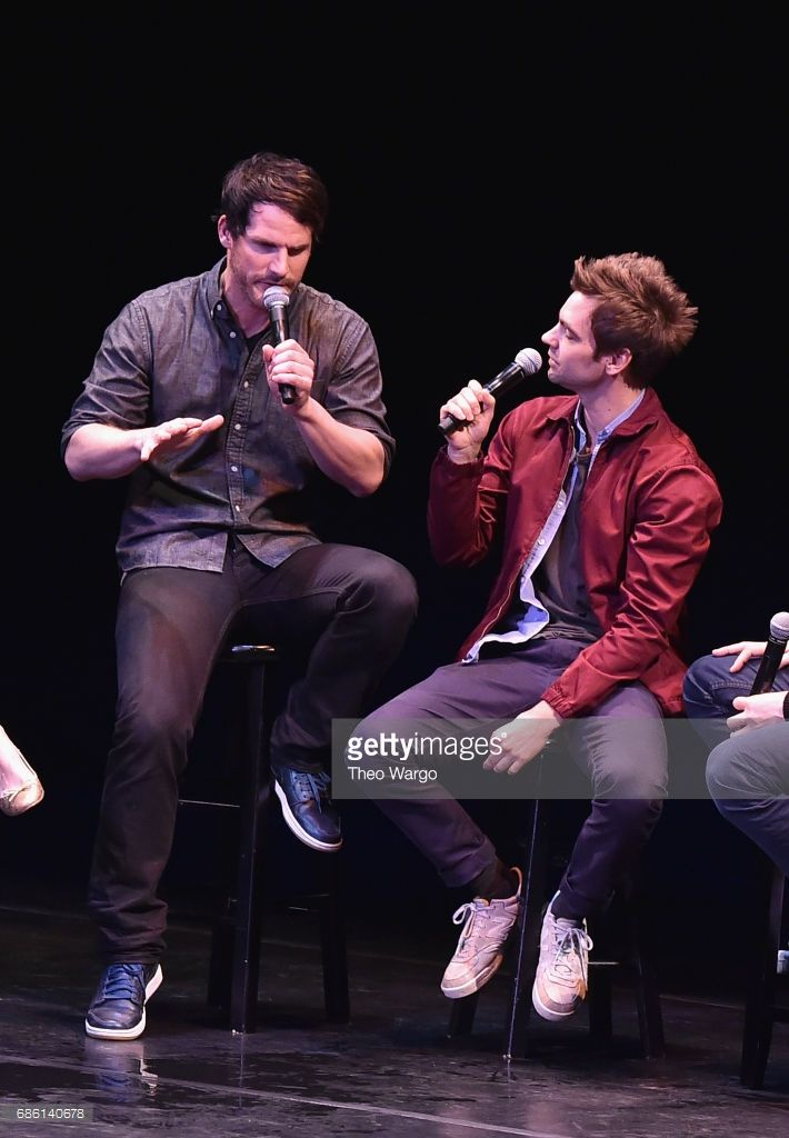 Ryan Gaul and Drew Tarver perform on stage at the Comedy Bang! Bang! at BAM presented by Vulture Festival on May 20, 2017 in New York City.