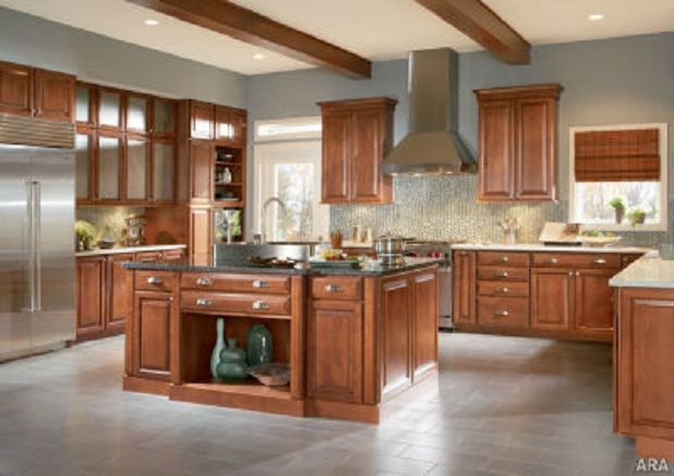 19 best images about american woodmark cabinets on pinterest - Best kitchen design app ...