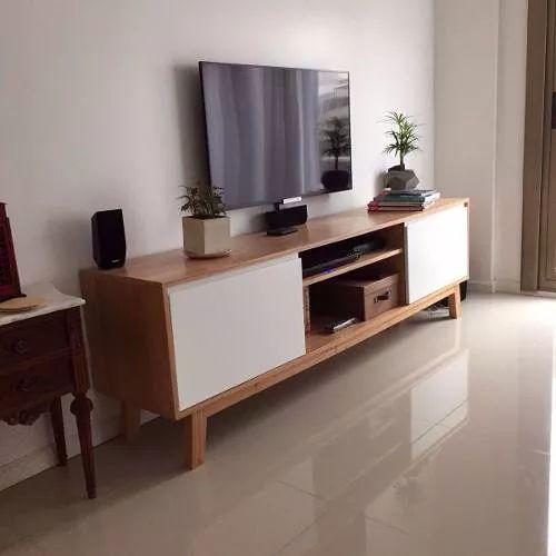 mueble tv diseo escandinavo nordico