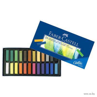 Мягкие мини-мелки GOFA в картонной коробке (24 цвета)