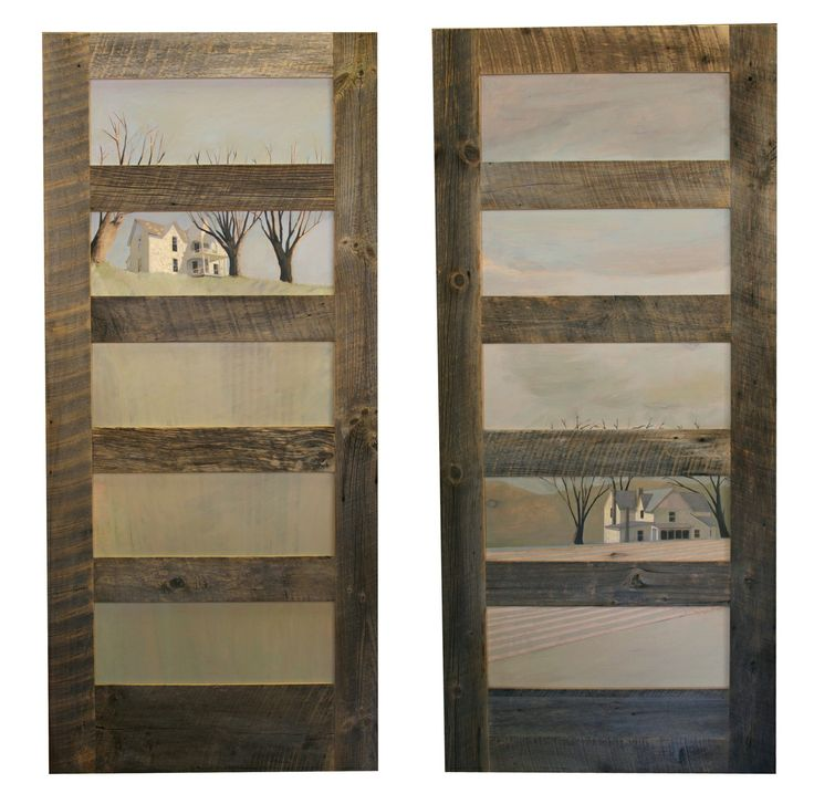 Untitled Hand built barn wood door with