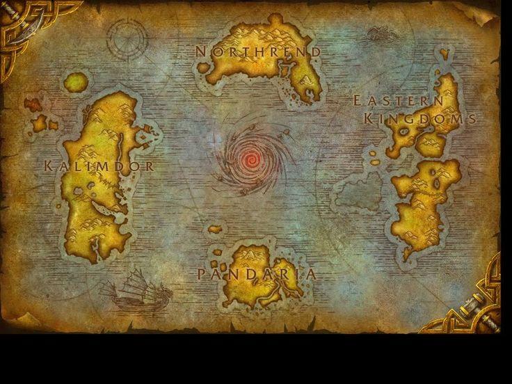 Best 25 world of warcraft map ideas on pinterest world of map of world of warcraft canvas print gumiabroncs Gallery
