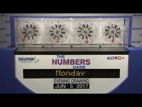 Evening Numbers Game Drawing: Monday, June 5, 2017 - http://LIFEWAYSVILLAGE.COM/lottery-lotto/evening-numbers-game-drawing-monday-june-5-2017/
