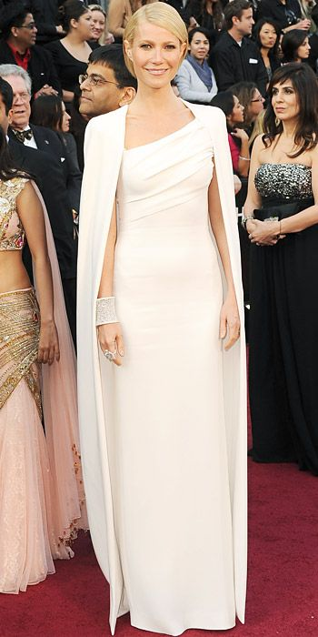 The Most Breathtaking Oscars Gowns - Gwyneth Paltrow, 2012 from #InStyle