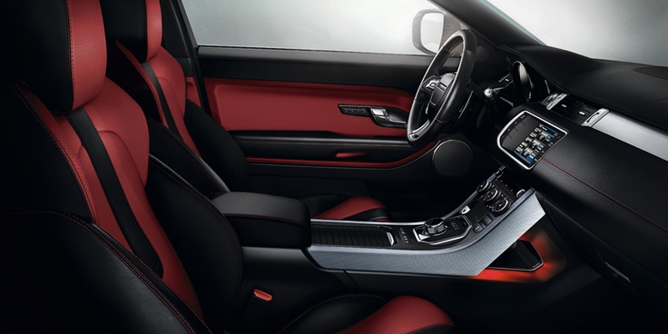 New Range Rover Evoque 2013 – Diseño interior.