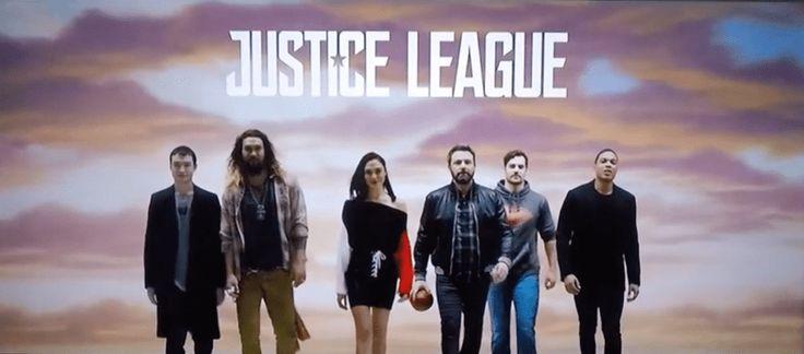 Justice League Cast Introduce FOX NFL Sunday
