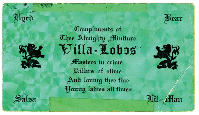 These Vintage Business Cards from Chicago Gangs Are Crazy as Hell - VICE