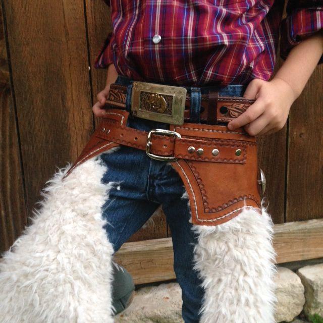 Custom Kids Leather Chaps.