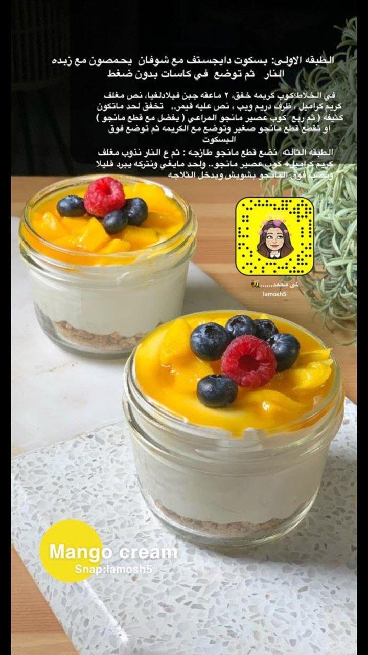 Pin By Reem On وصفات حلى كاسات Yummy Food Dessert Food Receipes Food Garnishes