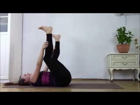 MOON YOGA für Unterleib & Bauchraum (Kinderwunsch, Endometriose, Zysten, Myome, PMS etc.) - YouTube