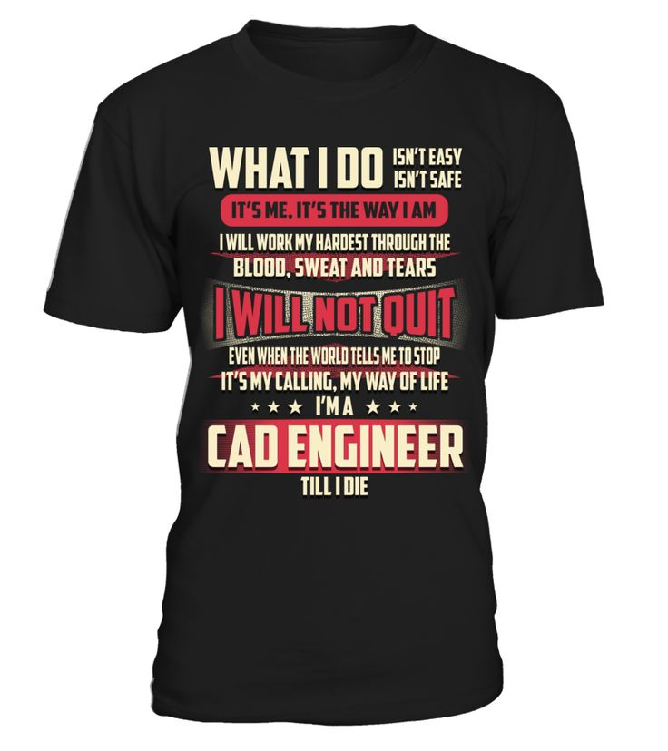 Cad Engineer - What I Do