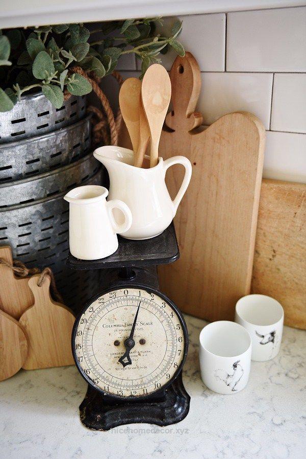 Perfect Farmhouse style kitchen decor – A great blog for farmhouse style home decor inspiration!  The post  Farmhouse style kitchen decor – A great blog for farmhouse style home decor ..
