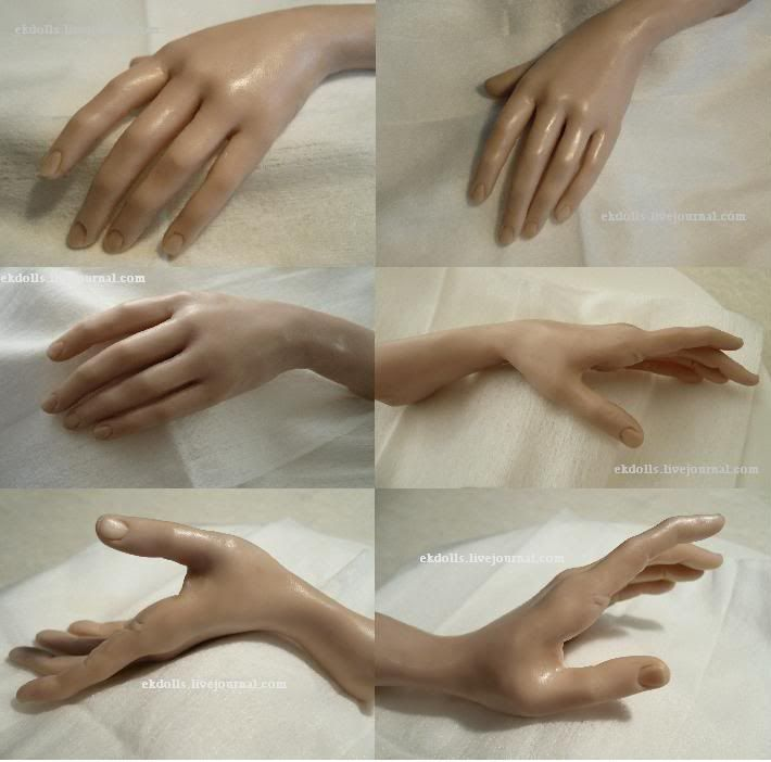 Master class on sculpting hands. Discussion on LiveInternet - Russian Service Online Diaries