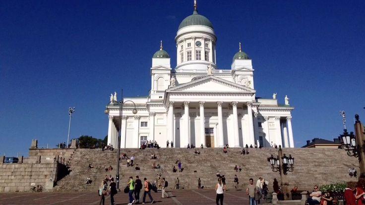 Summertime in Helsinki, Finland (when the sun never really sets) https://www.youtube.com/watch?v=dkR6EEoTwgs&feature=youtu.be  #travel #Helsinki #Finland
