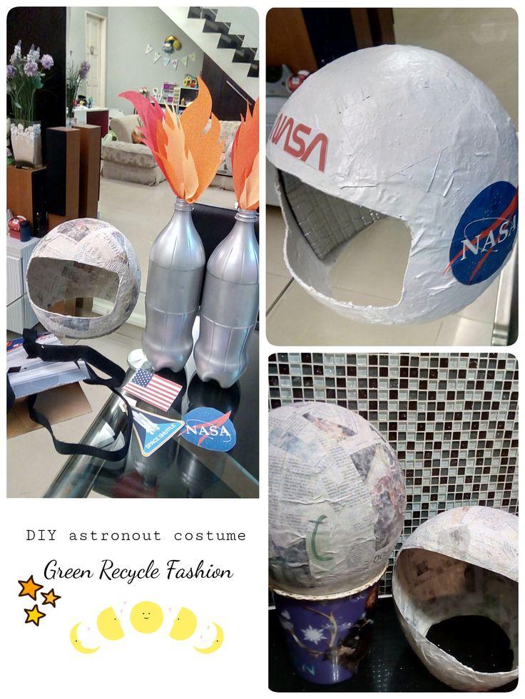 Rocket Astronaut Costume for kid || space helmet || Blast-Off Jetpack