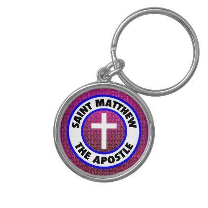 Saint Matthew the Apostle Keychain - accessories accessory gift idea stylish unique custom