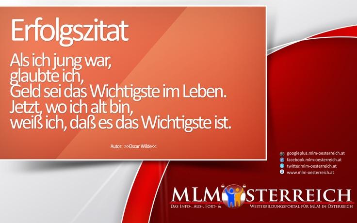 Erfolgszitat vom 02.05.2013 auf MLM-Österreich.at