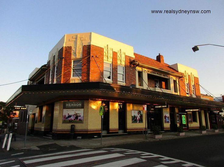 The Henson Park Hotel in Marrickville.