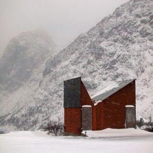 Roadside Reststop Akkarvikodden by Manthey Kula Architects