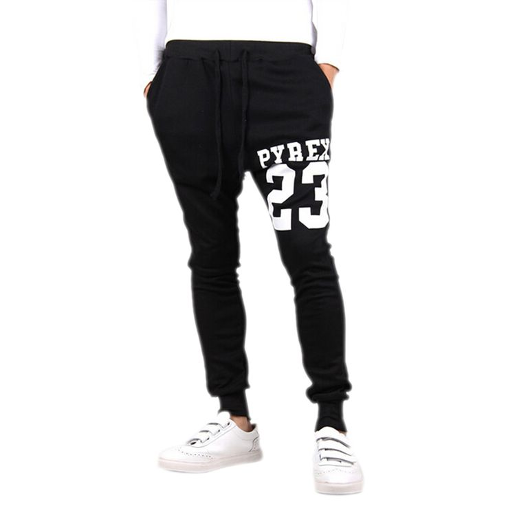FS Hot Baggy tapered bandana pant hip hop dance harem sweatpants drop crotch pants men parkour track trousers light