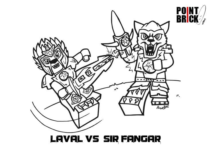 Point Brick Blog: Disegni da colorare: LEGO Chima e Sofia the First