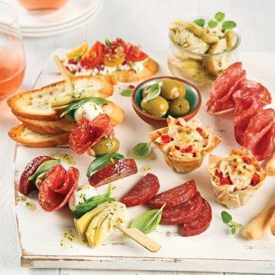 Trucs pour une réception tapas réussie - Trucs et conseils - Cuisine et nutrition - Pratico Pratique