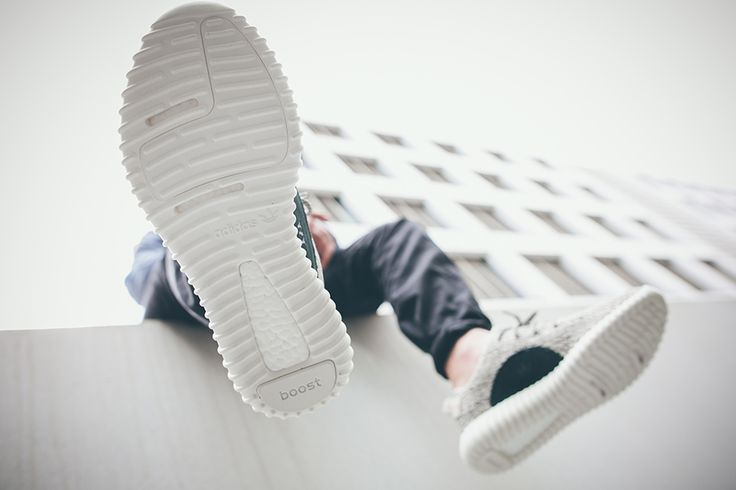 YEEZY BOOST 350 'TURTLE DOVE' STRIPE CENTER