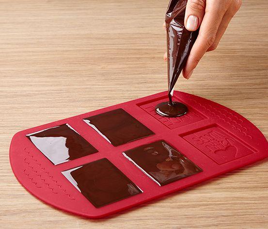 Csokoládéskeksz-készítő készlet
