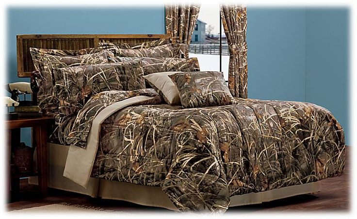 Bass Pro Shops Realtree MAX-4 Bedding Collection | Bedding ...