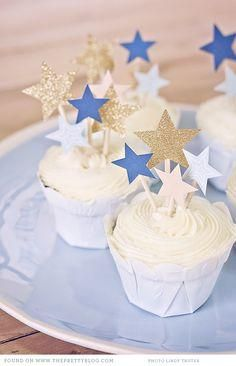 DIY Star cake topper