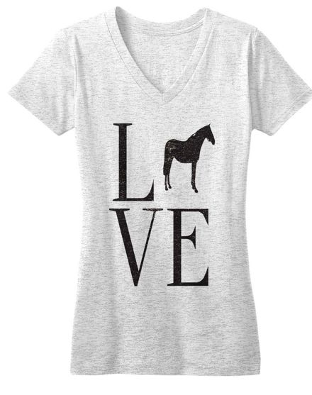 Love tee by One Horse Threads. Is this at Bits and Pieces?