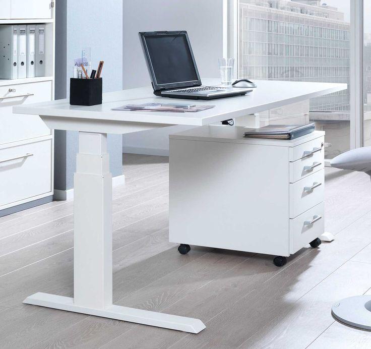 Details Zu Wellemöbel Upu0026Down3 Elektrisch Höhenverstellbarer Schreibtisch  Stehschreibtisch