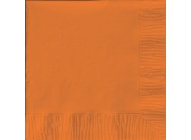 Sunkissed Orange Luncheon Napkins, Package of 20 - Whish.ca