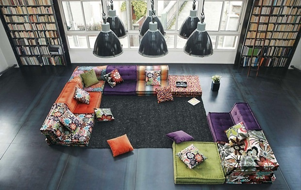 18 best Roche Bobois images on Pinterest   Couches, Living room and ...