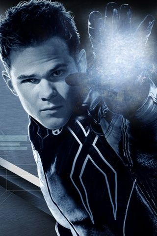 Shawn Ashmore as Iceman in the X-Men movies