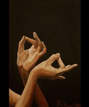 Flamenco Hands- Mark Bennett