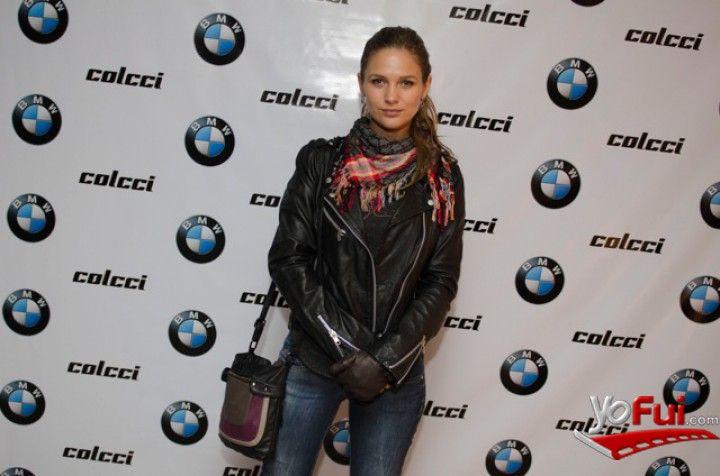 YoFui.com: Maite Rodriguez en Alianza Colcci - BMW, Showroom Williamson Balfour Motors Chile, Santiago (Chile)
